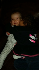 loving on baby Natalie!