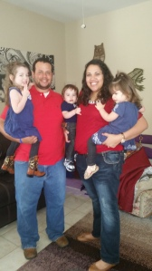 Me and Shane with the precious kiddos :)