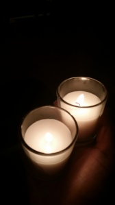 Candle light ceremony in honor of our precious children.