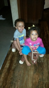 Friends-- James and Brielle