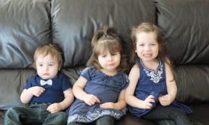Levi, Lena, and Eva