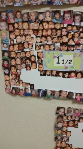 Brielle made the wall!!