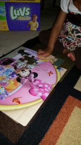 New minnie mouse puzzle.