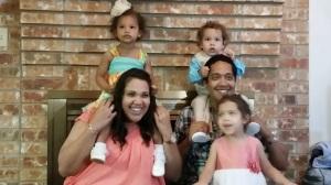 Me and Nathan with our kiddos! :)