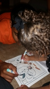 I adore her curls.. and her coloring with her uncle Nathan