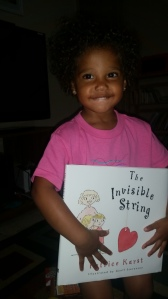 Brielle and the book :)