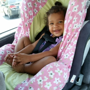 big girl car seat!