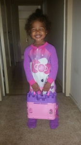 She found her princess castle!