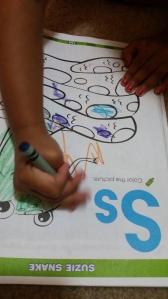 Coloring S for sssssnnnnakkke