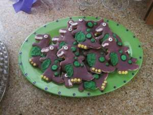Barney cookies