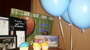 We love you so much Lamar Grant Johnson