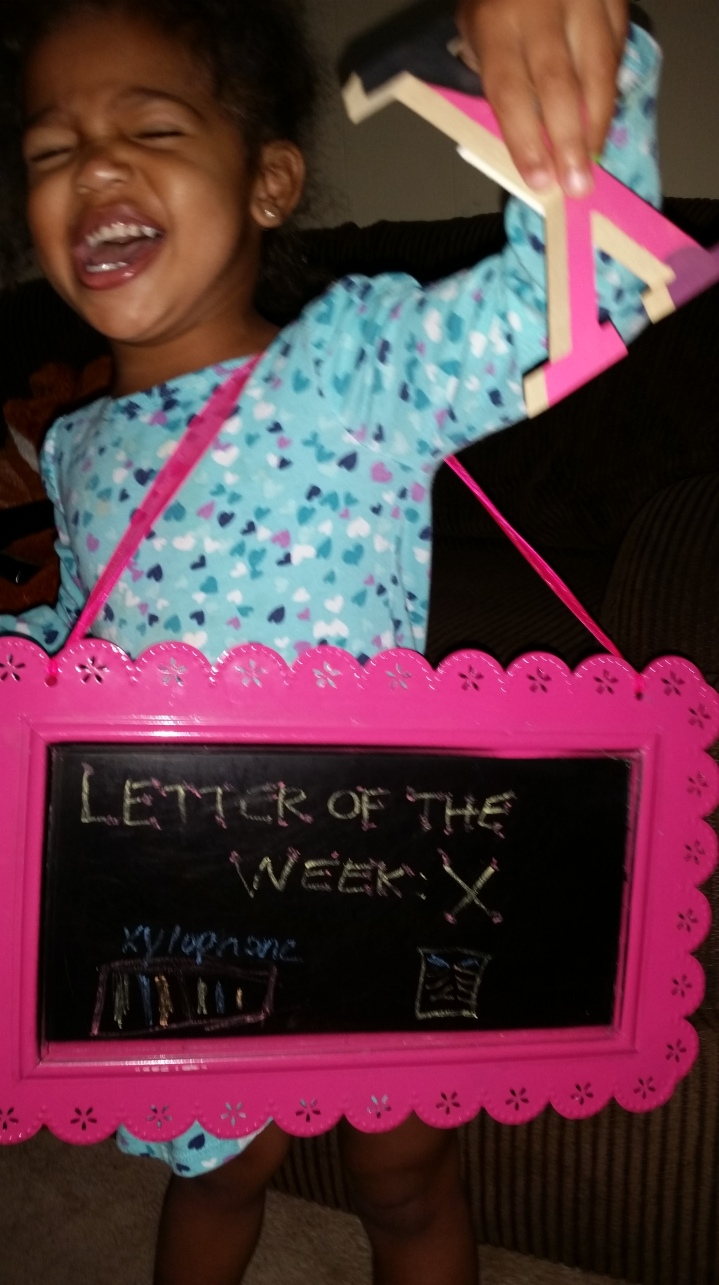 Letter of the week: X