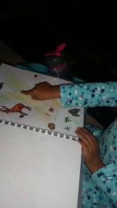 She found X in her alphabet book!