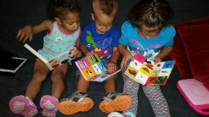 Cousins reading together!