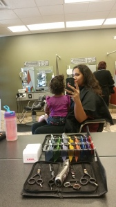 Before picture, taken at the salon!