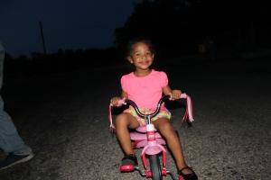 Night time bike ride! :)