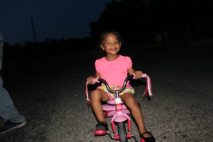 Night time bike ride! :)