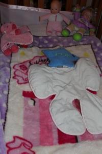 Brielle's crib!
