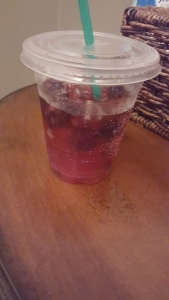 Hello Berry Spritzer from Starbucks! (forgot the name, but the drink was amazing!)