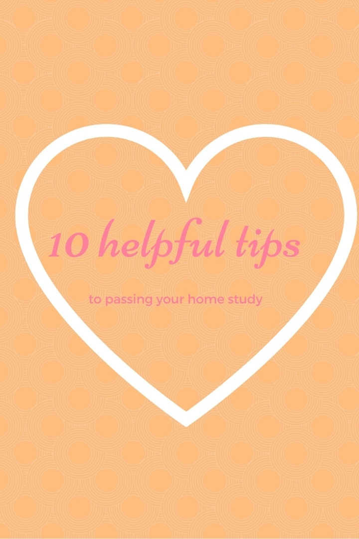 10 tips for your homestudy