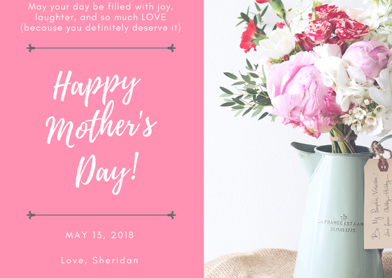 mothers day 2018